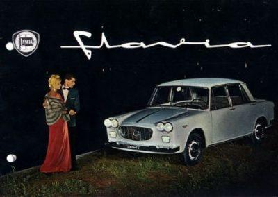 Lancia Flavia Berlina (Verkaufsprospekt)