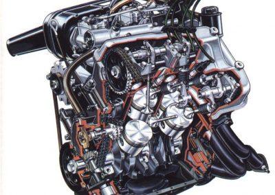 Motor 2. Serie mit Drehstromlichtmaschine