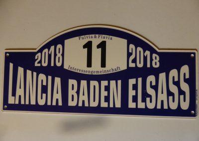 Rallyschild Treffen 2018 in Baden Elsass